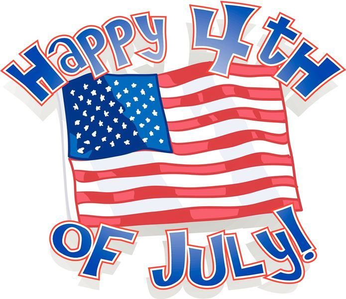 695x600 Happy 4th Of July Clipart 2018 Fourth Of July Clip Art Images