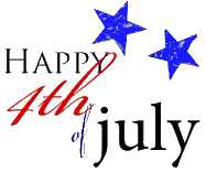 187x156 July Independence Day Clip Art, Gifs, Fireworks Animations, Flags