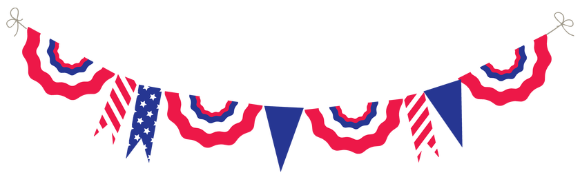 840x254 Astounding Patriotic Banner Clipart Free Fourth Of July Images