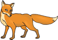 200x140 Free Fox Clipart Free Cute Fox Clipart Scrapbook Printables Autumn