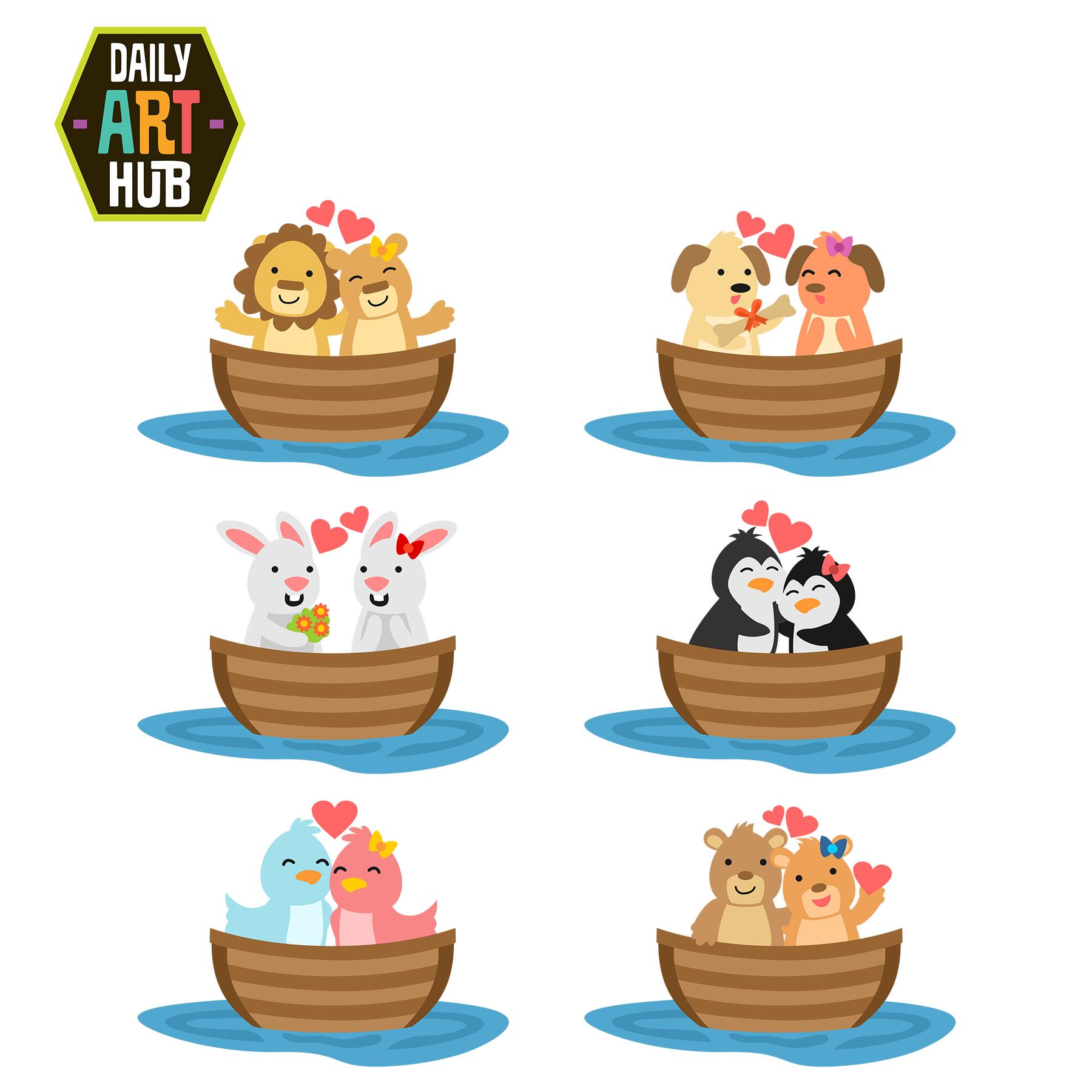 1800x1800 Love Boat Clip Art Set Daily Art Hub Free Clip Art Everyday