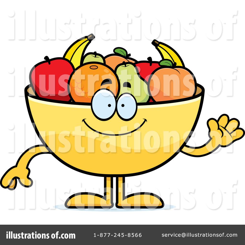 1024x1024 Fruit Bowl Clipart