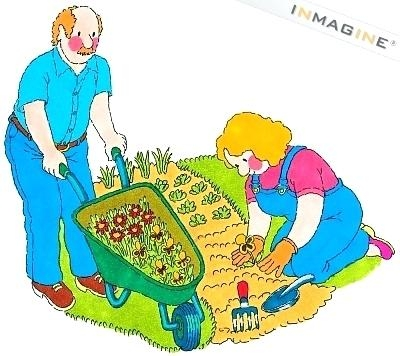 400x356 Vegetable Garden Clipart