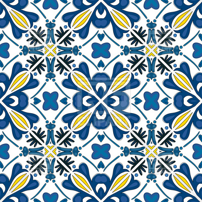 400x400 Seamless Geometric Pattern In Traditional Style