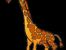 220x165 Gallery Free Giraffe Clip Art Images,