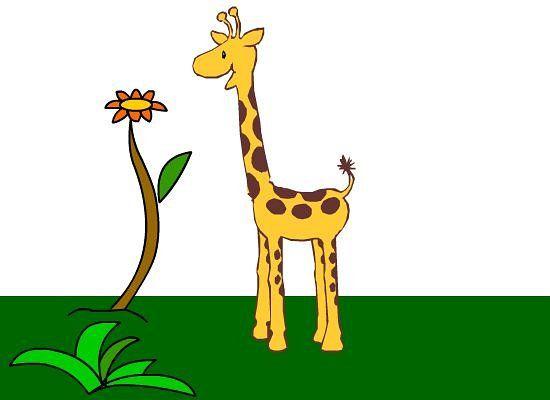 550x400 Giraffe Clipart Giraf Classroom Clipart Giraffe Amp Elephant
