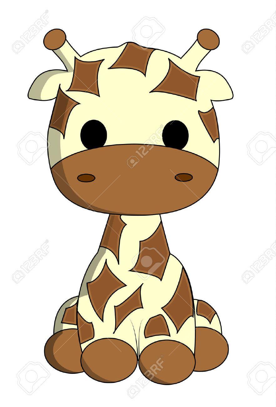 882x1300 Giraffe Stock Vector Illustration And Royalty Free Giraffe Clipart