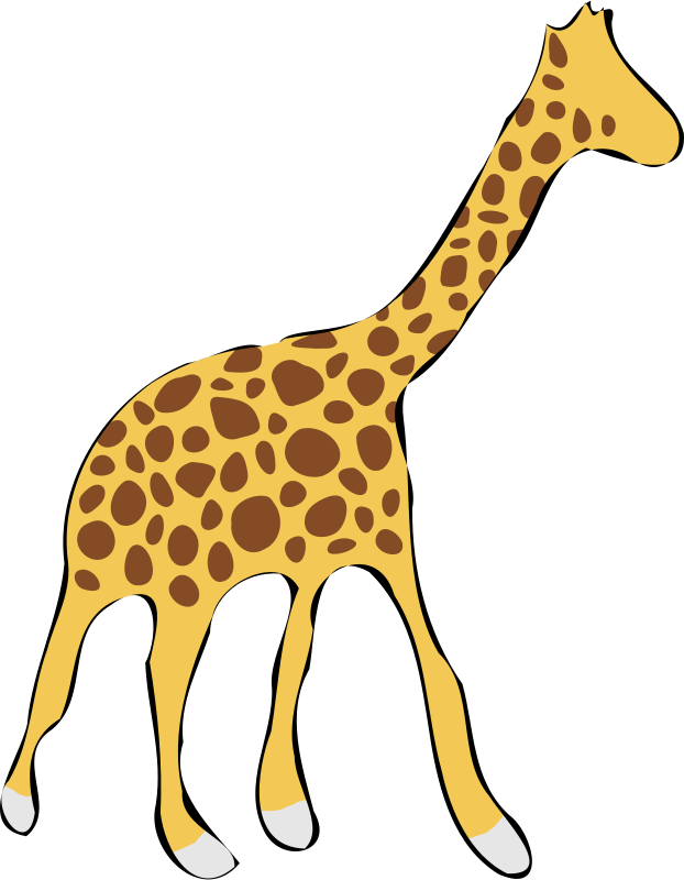 free giraffe clipart at getdrawings com free for personal use free rh getdrawings com clipart giraffe mom and baby pink clip art giraffe free