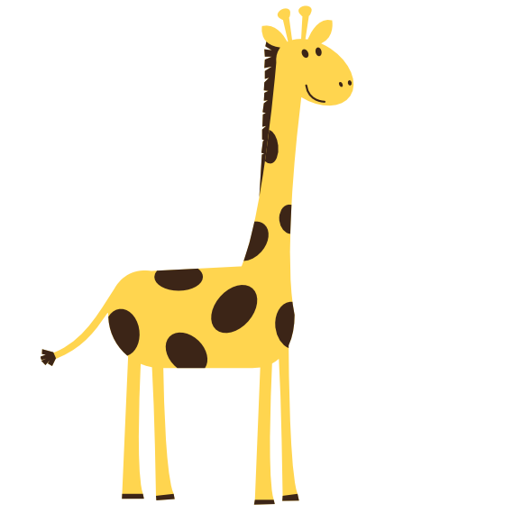 569x569 Giraffe Clip Art Free Giraffe Clipart Black And White Clipart