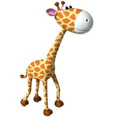 236x236 Cartoon Giraffe