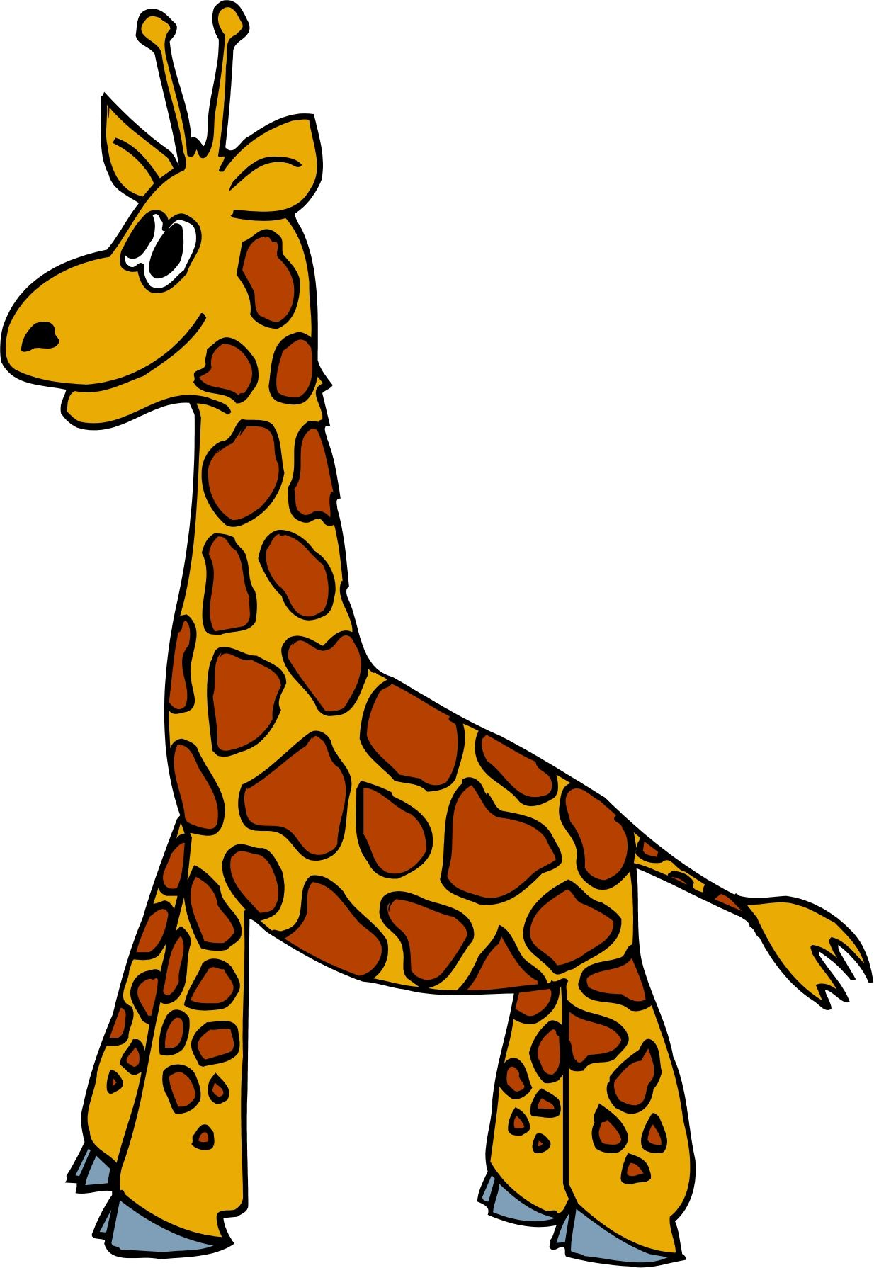 1234x1790 Cute Baby Giraffe Clip Art Clipart Clipart Image