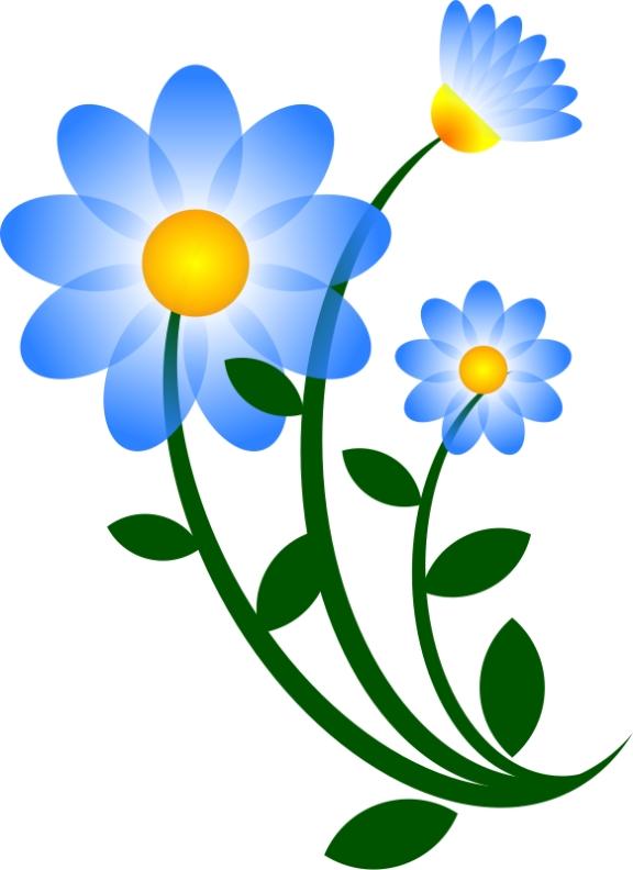 576x792 Free Clipart Daisy Flower