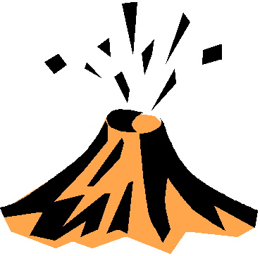 369x364 Volcano Clip Art Free Clipart Images 5