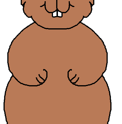 free groundhog clipart at getdrawings com free for personal use rh getdrawings com