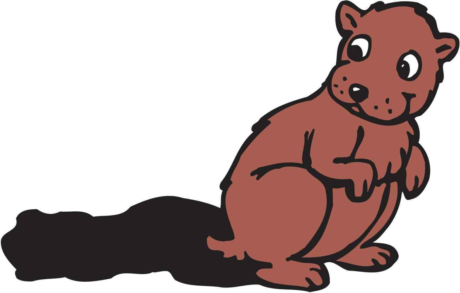 1514x965 Free Groundhog Clipart Black And White