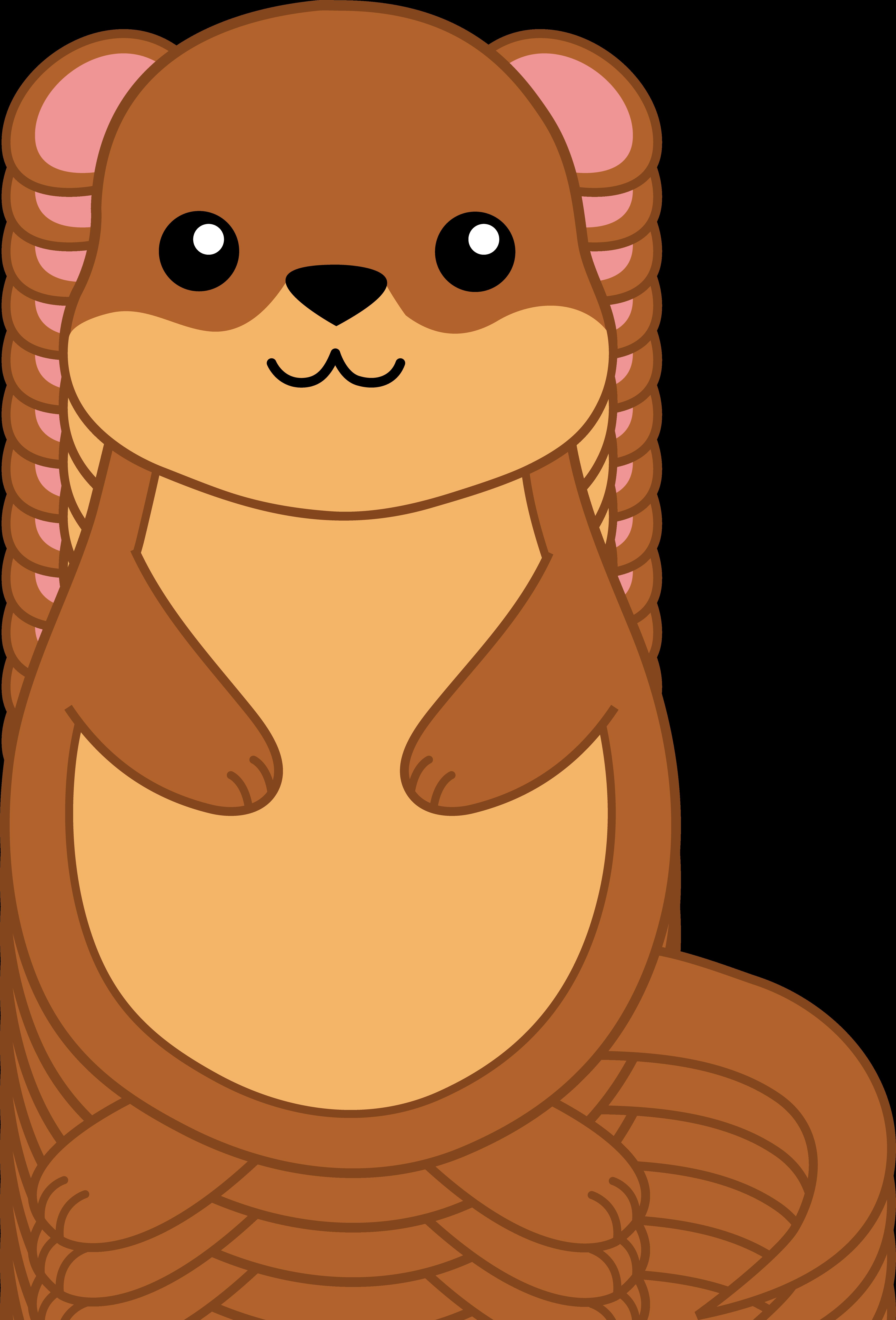 4641x6836 Groundhog Day Cartoon Free Clipart Kids Clip Art