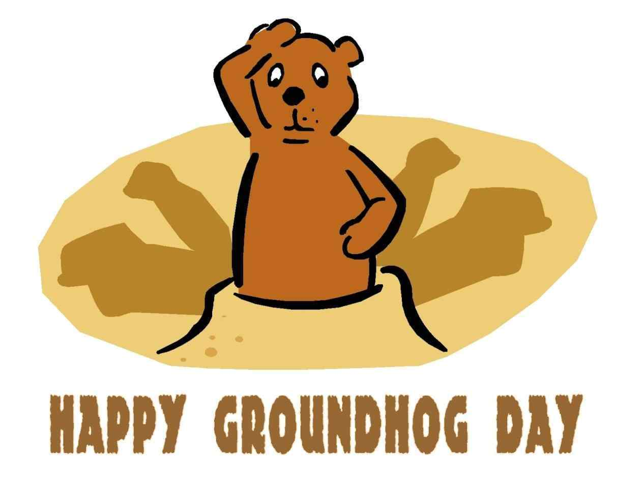 1264x970 Groundhog Day Clip Art Free Your Meme Source