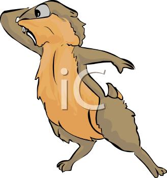 328x350 Groundhog Day Clip Art
