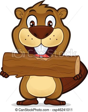 370x470 Beaver Eating Wood. Clipart Picture Of A Beaver Cartoon Vector