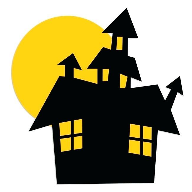 650x650 Halloween Haunted House Clip Art Haunted House Halloween Clipart