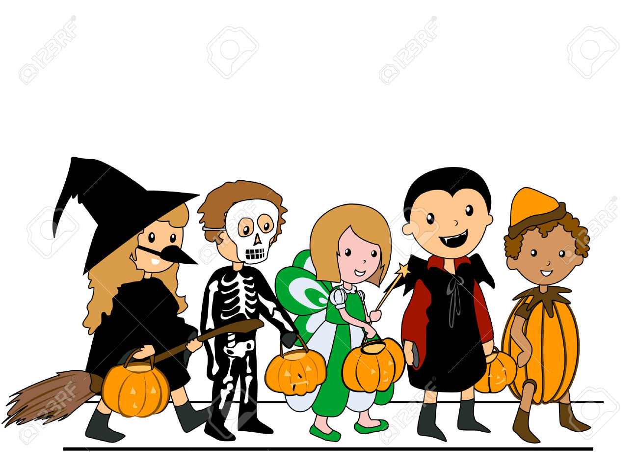 1300x963 Collection Of Kids In Halloween Costumes Clipart High