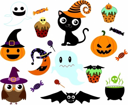 451x368 Halloween Free Vector Download (891 Free Vector) For Commercial