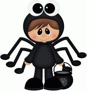 Free Halloween Spider Clipart
