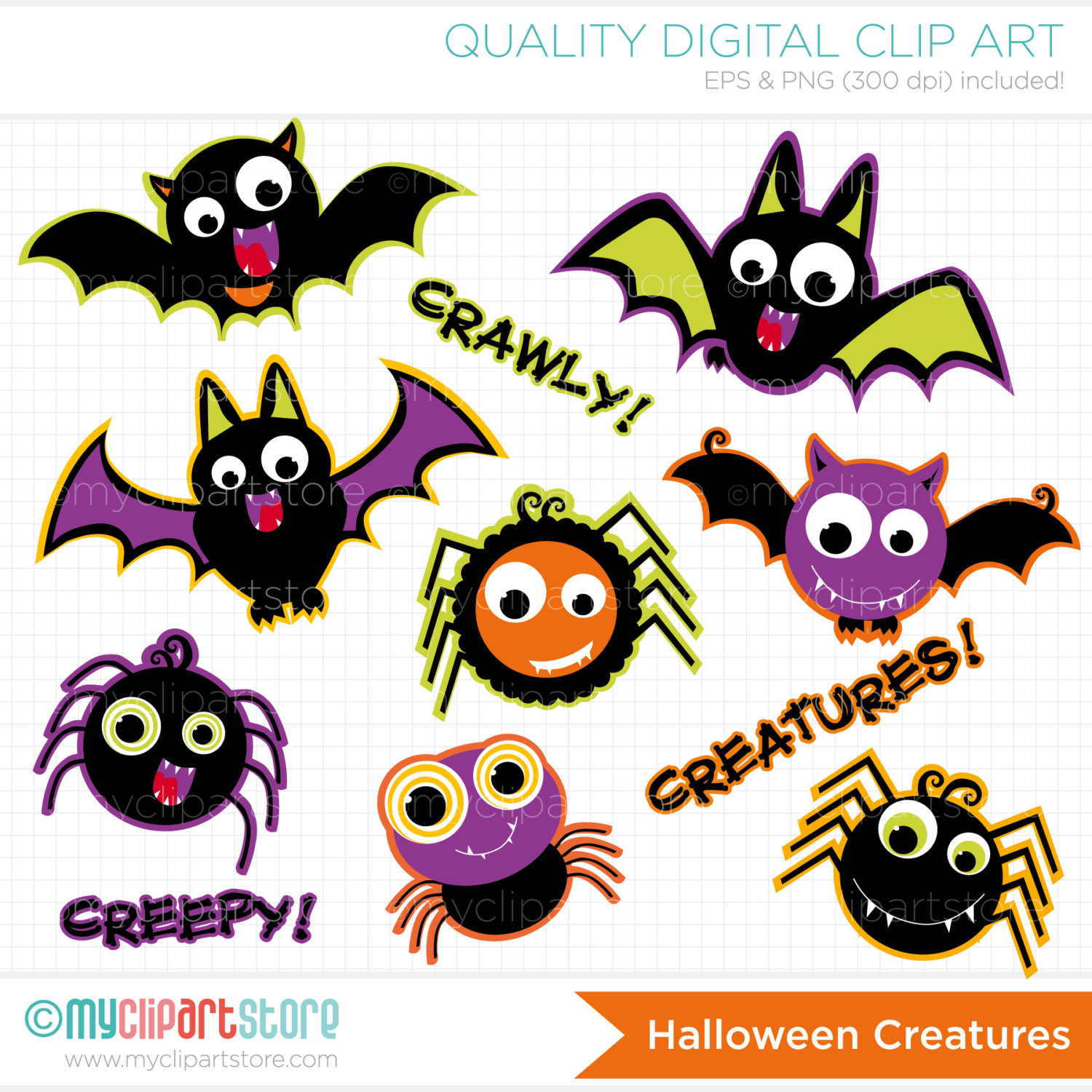 1500x1500 Halloween Hanging Spider Clipart Clipart Panda
