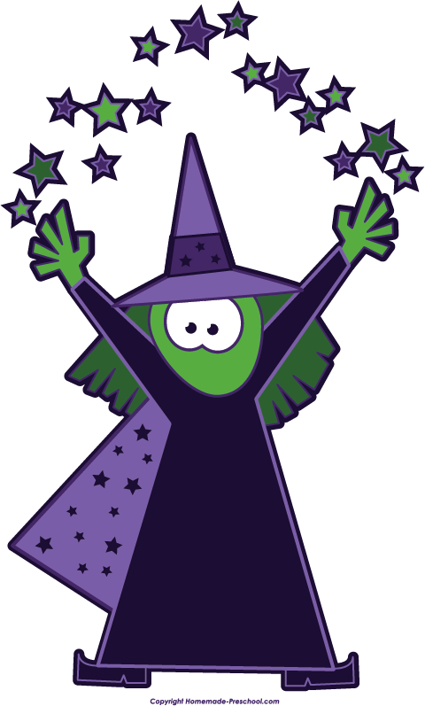 480x797 Free Witch Clipart 2