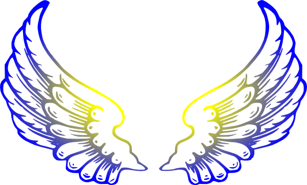 600x363 Angel Wings Clipart