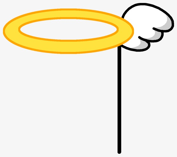 600x533 Cartoon Angel Halo, Angel Aura, Cute Angel Aura Png Image