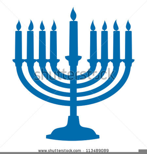 287x300 Menorah Candles Clipart Free Images