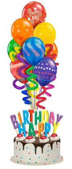 236x548 Free Birthday Balloon Art Birthday Clip Art Images Birthday