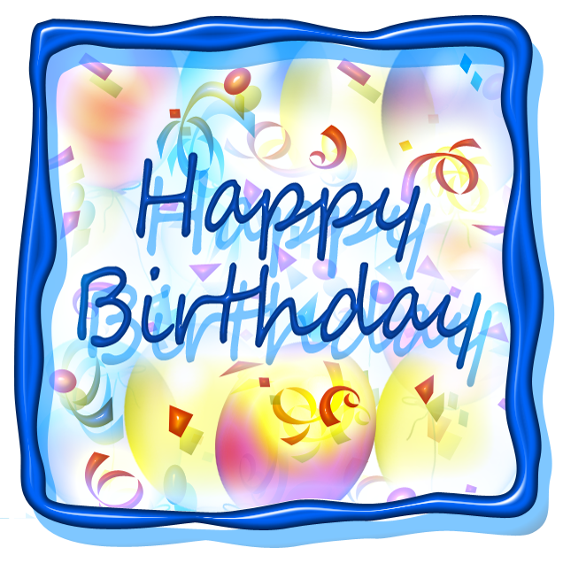 636x636 Free Happy Birthday Clip Art Amp Printables Happy Birthday