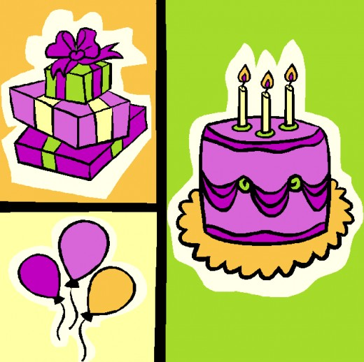 520x518 Birthday Clip Art Best Free, Printable Happy Birthday Clip Art