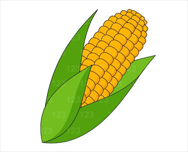 600x486 Corn On The Cob Clip Art Clipartlook