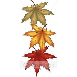 300x300 Harvest Clipart Leaves