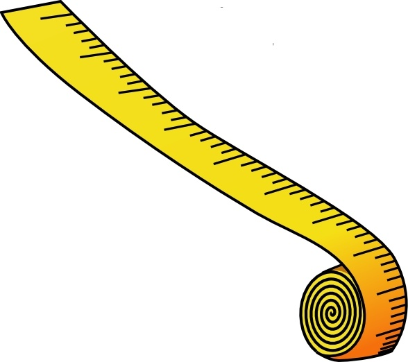 588x522 Tape Measure Clipart Measuring Tape Clip Art Free Vector In Open