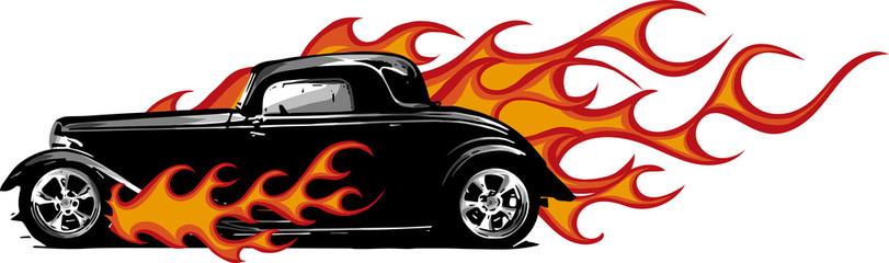 811x240 Hot Rod Clipart Free Download Clip Art