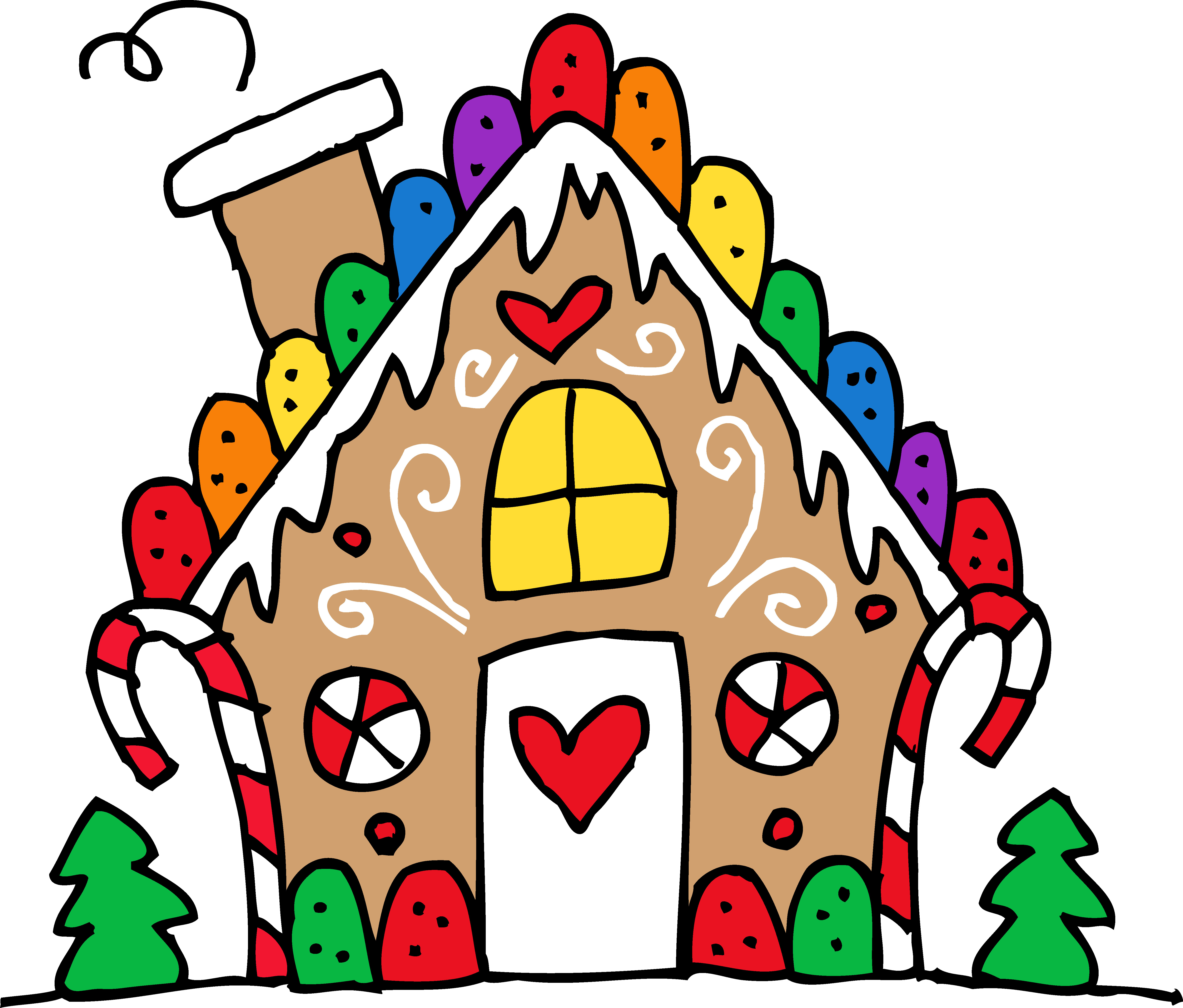 5677x4840 Gingerbread Clip Art Thatswhatsup