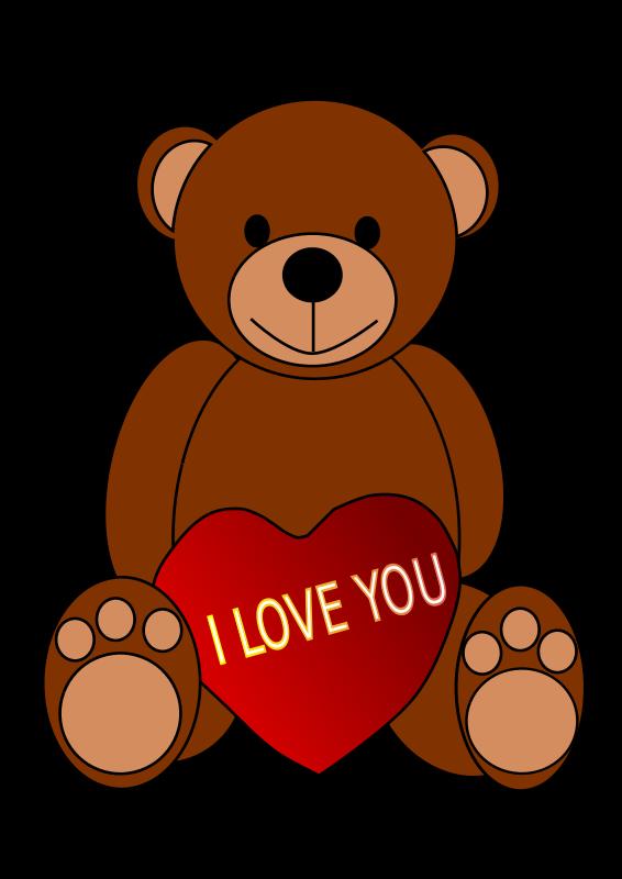 566x800 I Love You Clipart Animated Clipart Panda