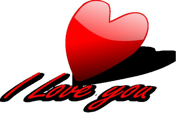 600x378 I Love You Heart Clip Art Clipart Panda