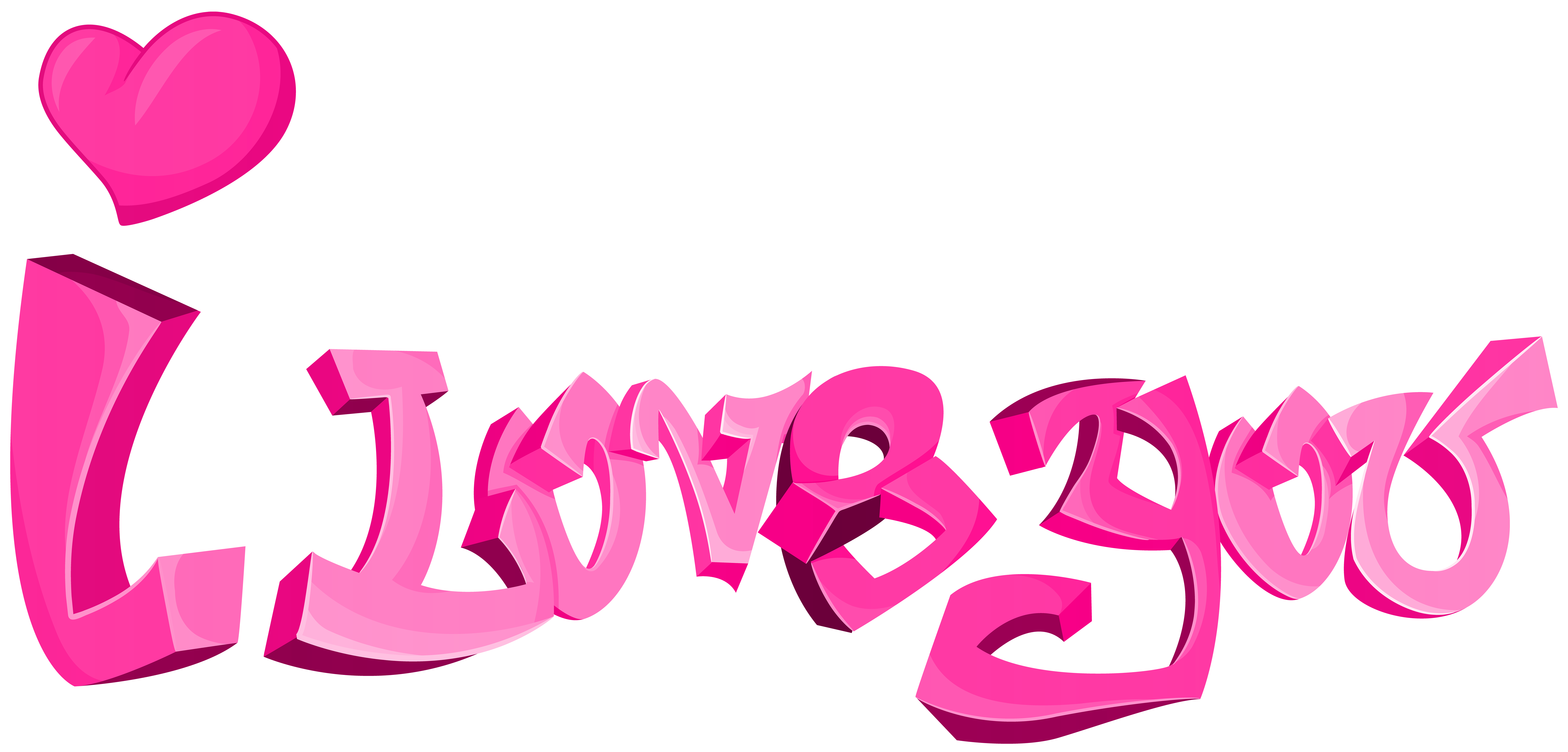8000x3838 I Love You Png Transparent Clip Artu200b Gallery Yopriceville