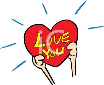 350x287 Hands Holding A Heart That Says Love You