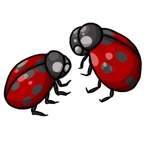 500x500 Free Ladybug Clip Art 18