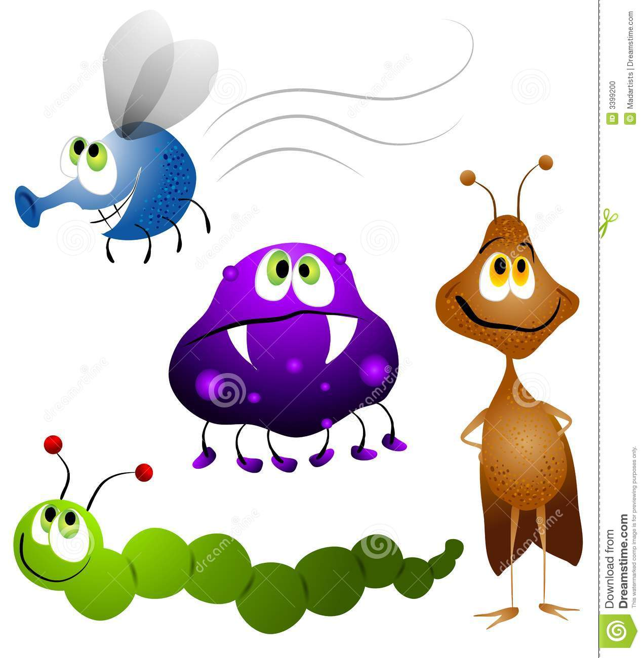 1272x1300 Insect Clipart Cute Plant 3632459