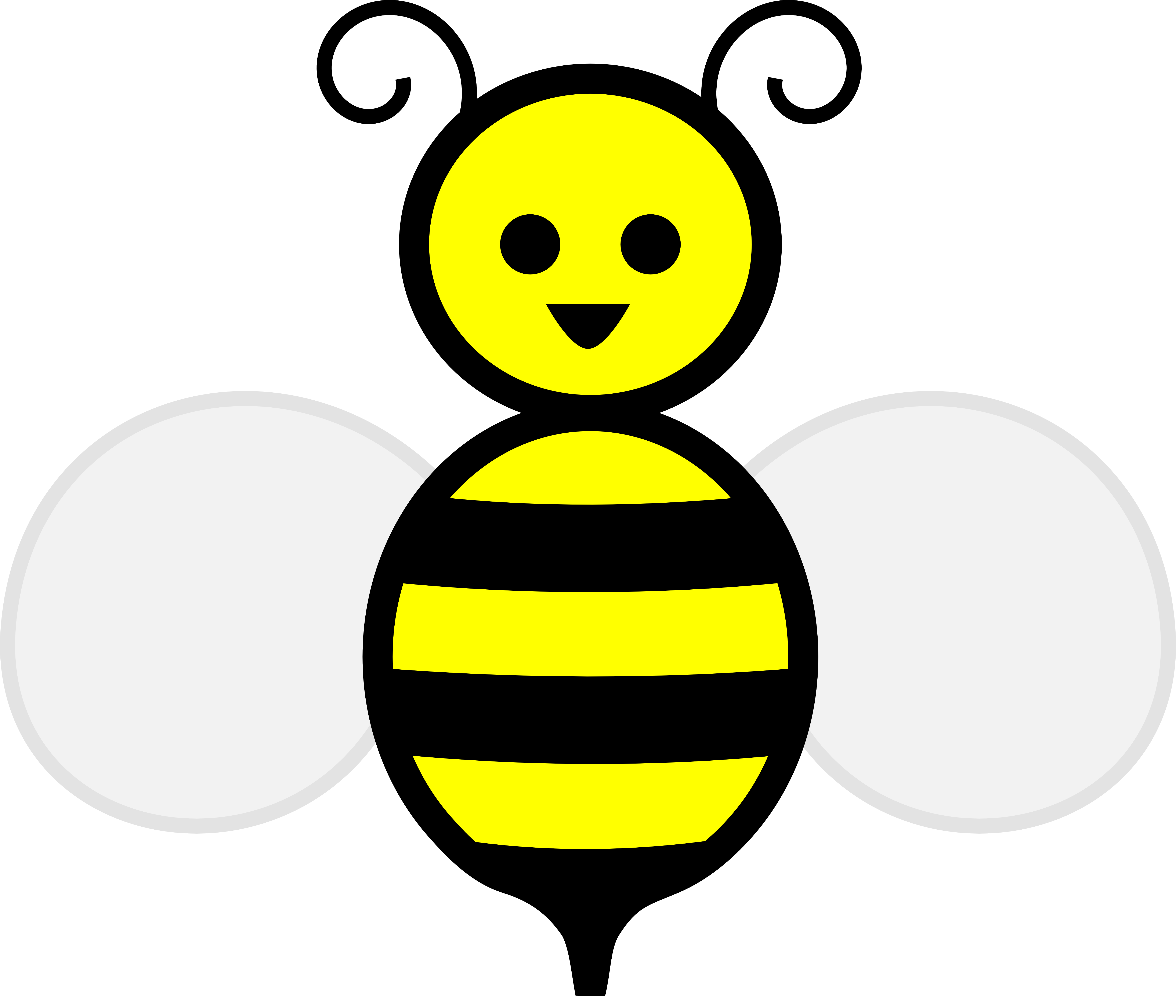 5555x4763 Bee Clip Art For Teachers Free Clipart Images