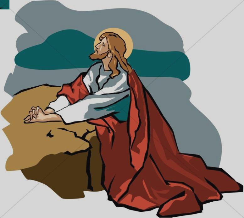 776x694 Jesus Walking In The Garden Free Clipart