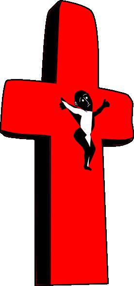 276x590 Clip Art Jesus On The Cross Free Christian Clipart Clip Art
