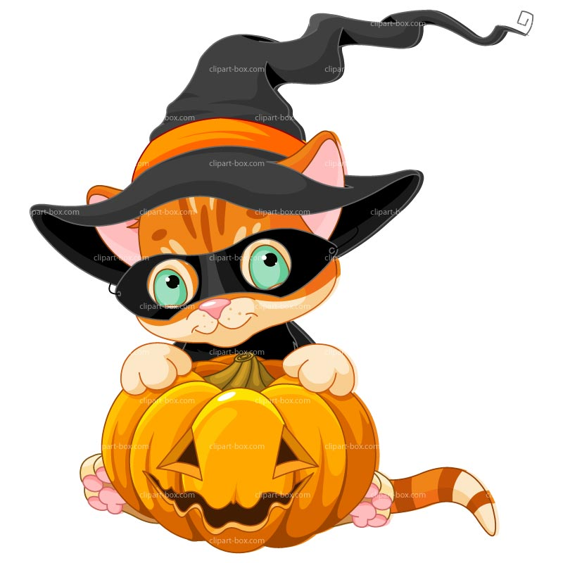 800x800 Free Halloween Cat Clip Art Fun For Christmas